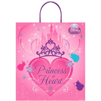 Disney Princess Boutique Plastic Handle Treat Bag