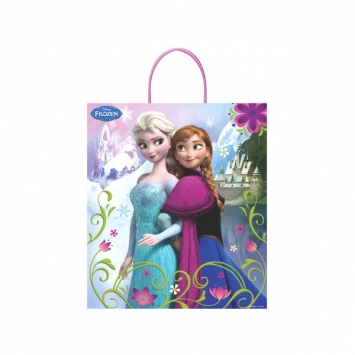 Disney Frozen Plastic Handle Treat Bags