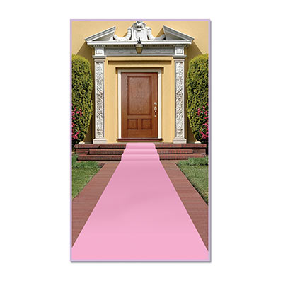 Pink Carpet Runner 24 x 15'
