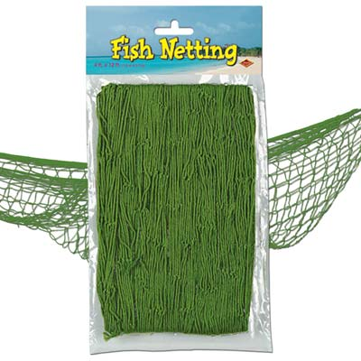 Fish Netting 4x12ft - Green
