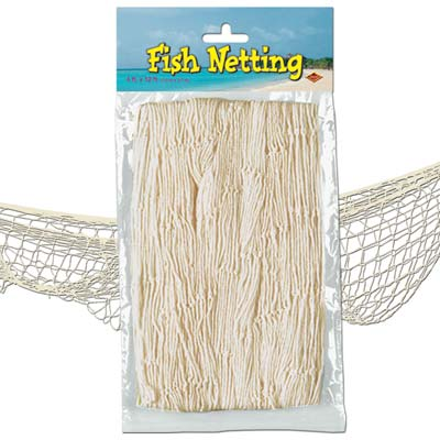 Fish Netting 4x12ft - White