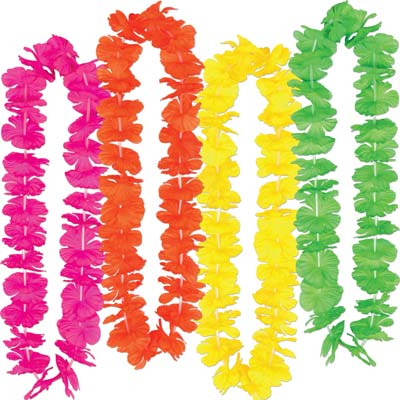 Silk 'N Petals Party Leis 36 Inch