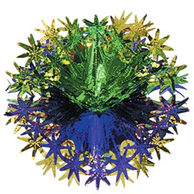 Star Ball- Green Yellow and Purple