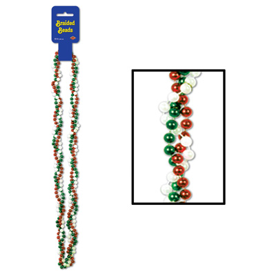 Braided Beads - 33in