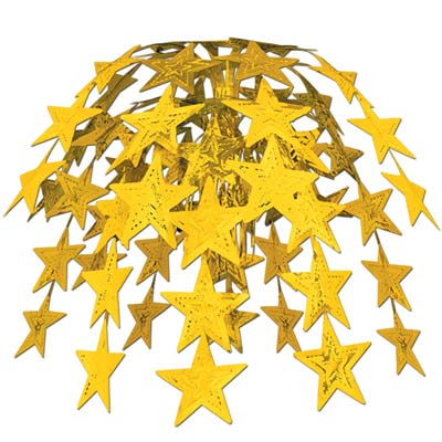 Star Cascade 24in gold