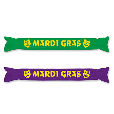 Make Some Noise Party Sticks 22in- Green and Purple