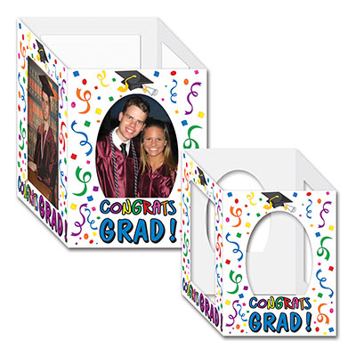 Congrats Grad Photo Centerpieces 6 x 7