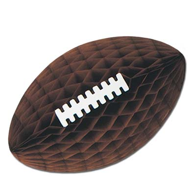 Pkgd Tissue Football with Laces 12in