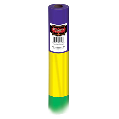 Mardi Gras Table Roll 40 x 100'