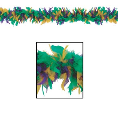 Fancy Feather Boa 40 Grams x 6'