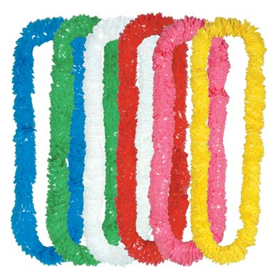 Soft-Twist Poly Leis 2 x 36 Inch