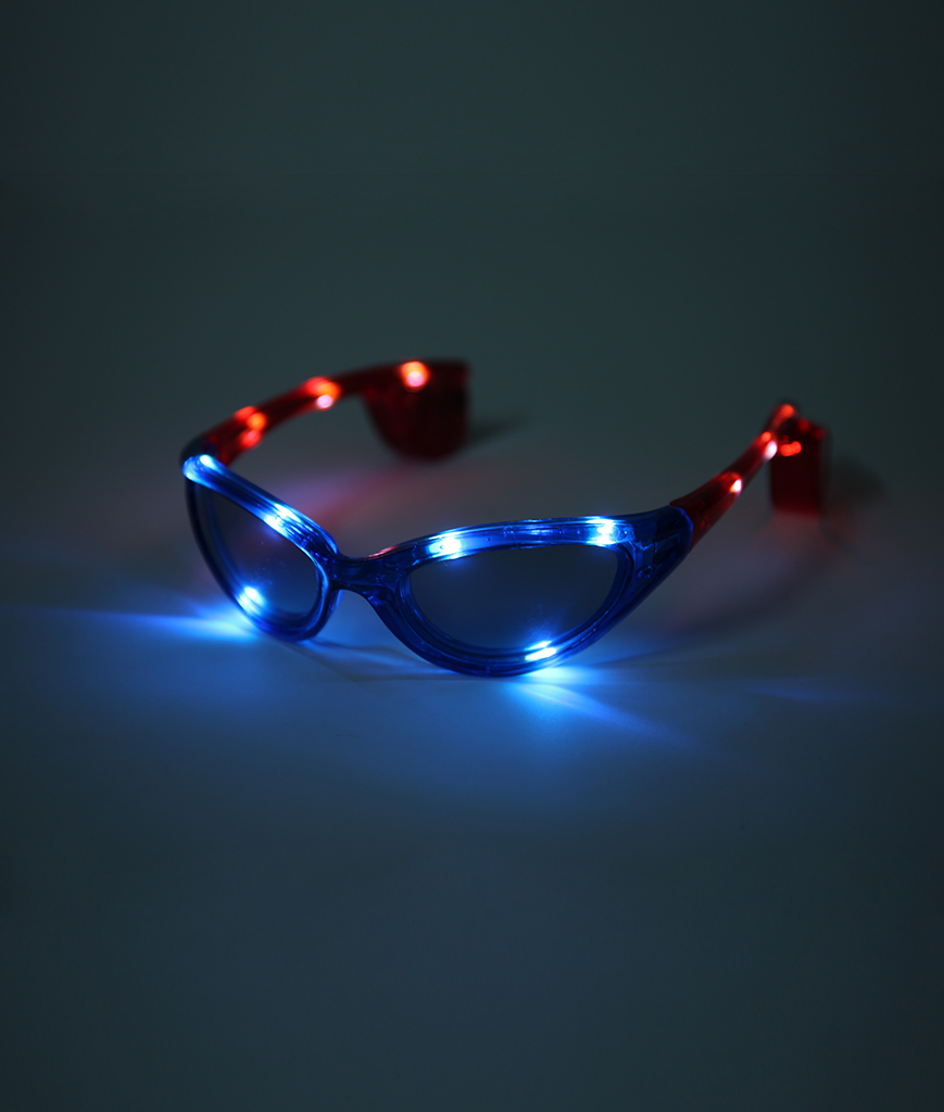Fun Central BC602 LED Light Up Patriotic Sunglasses