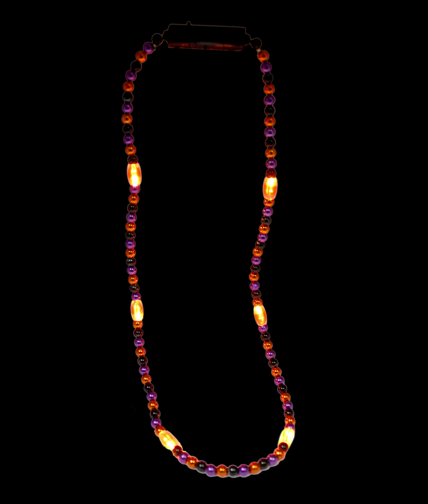 LED 34 Inch Halloween Bead Necklace