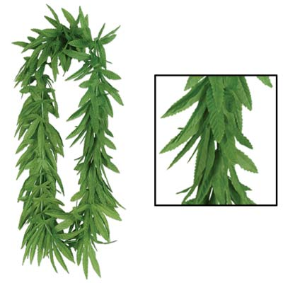 Tropical Fern Leaf Lei 40
