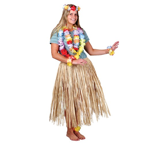 Luau Raffia Hula Skirt - Adult XL