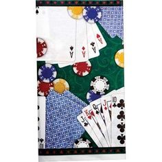 Poker Party Paper Table Cover