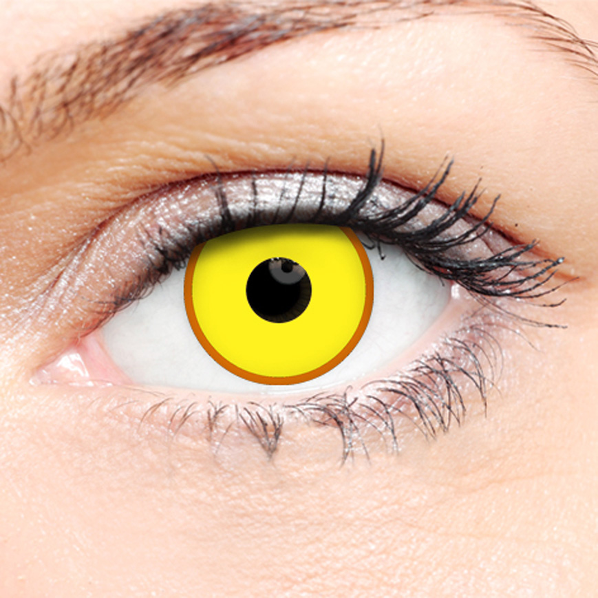 Crazy Halloween Contact Lenses - Virus