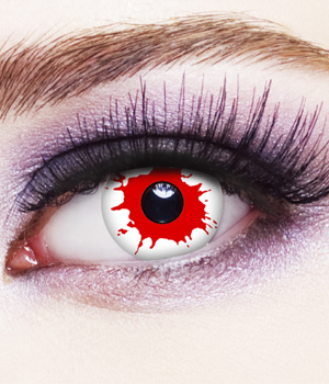 Novelty Contact Lenses - Blood Shot
