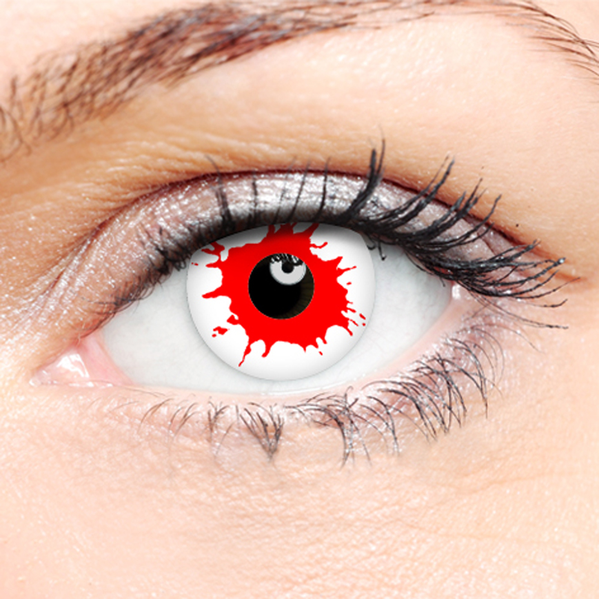 Crazy Halloween Contact Lenses - Blood Shot