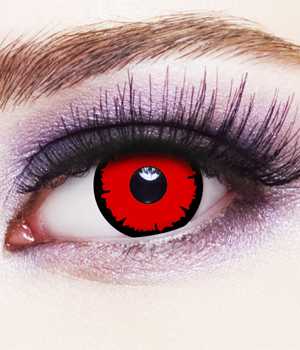 Novelty Contact Lenses - Angelic Red