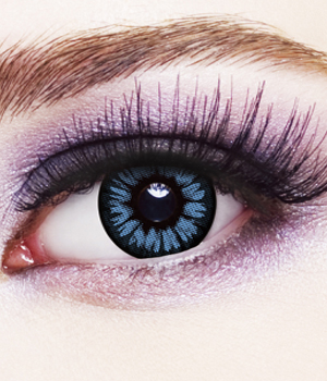 Novelty Contact Lenses - Blue 2 Tone
