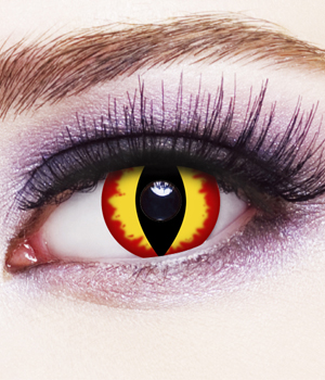 Novelty Contact Lenses - Banshee