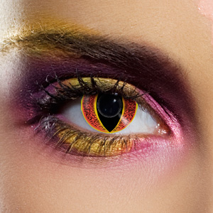 Crazy Halloween Contact Lenses - Banshee