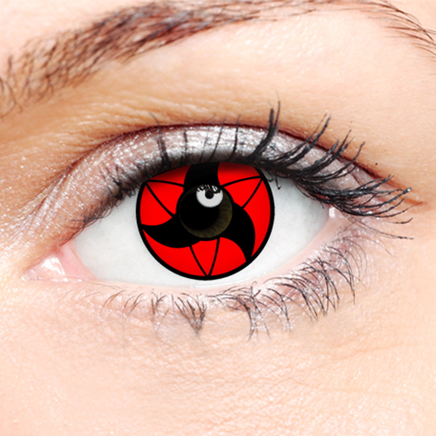 Crazy Halloween Contact Lenses - Akira