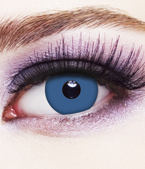 Novelty Contact Lenses - Deep Blue
