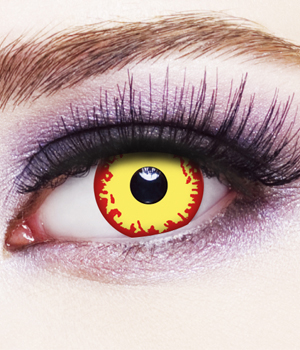 Novelty Contact Lenses - Fire