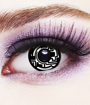 Novelty Contact Lenses - Cyborg
