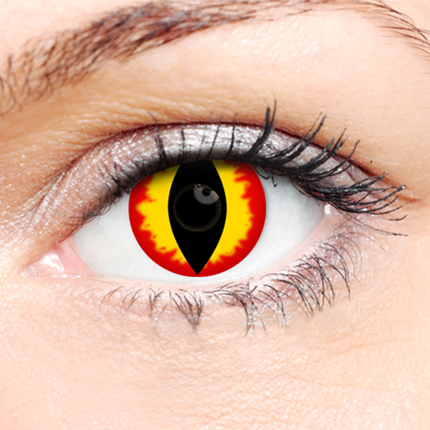 Crazy Halloween Contact Lenses - Dragon
