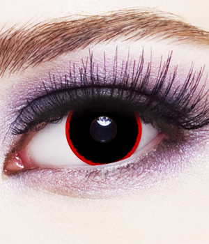 Novelty Contact Lenses - Hell Raiser