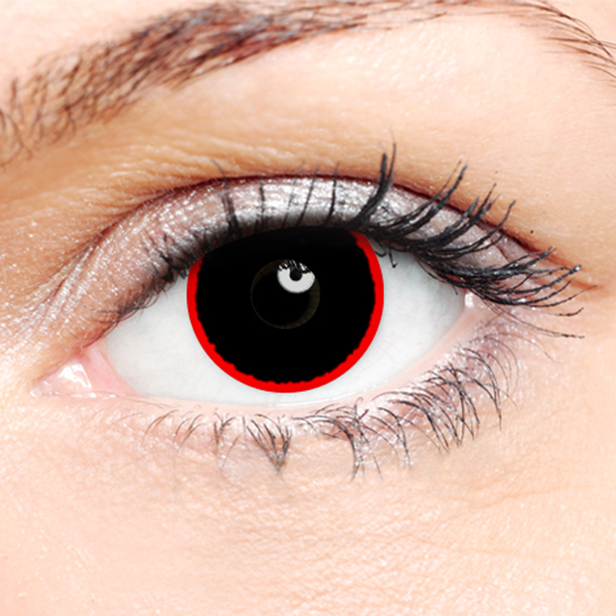 Crazy Halloween Contact Lenses - Hell Raiser