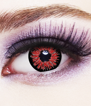 Novelty Contact Lenses - Vampire