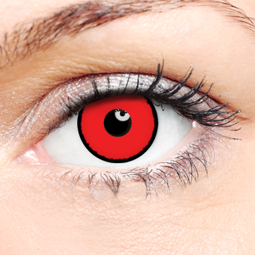 Crazy Halloween Contact Lenses - Nightstalker