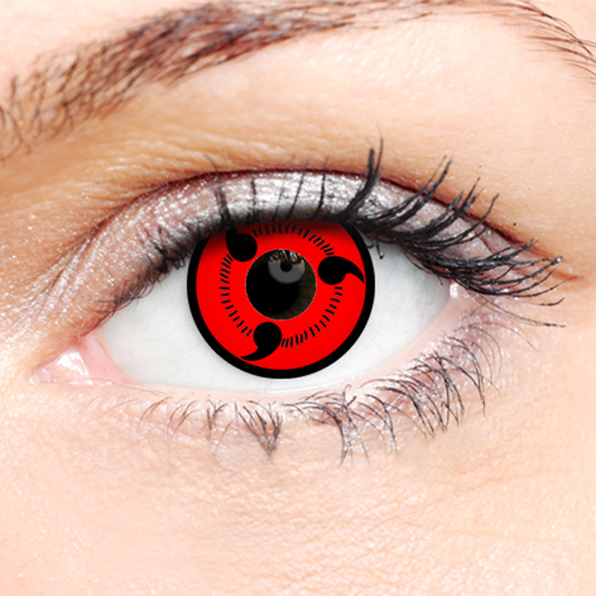 Crazy Halloween Contact Lenses - Hatake