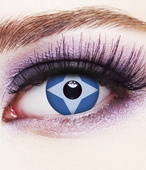 Novelty Contact Lenses - Ice Star
