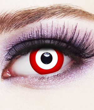 Novelty Contact Lenses - Saw