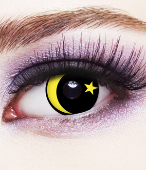 Novelty Contact Lenses - Galaxy