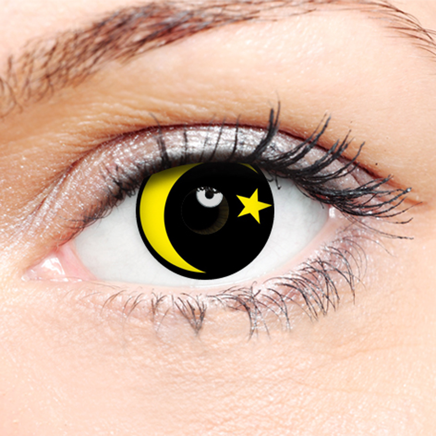 Crazy Halloween Contact Lenses - Galaxy