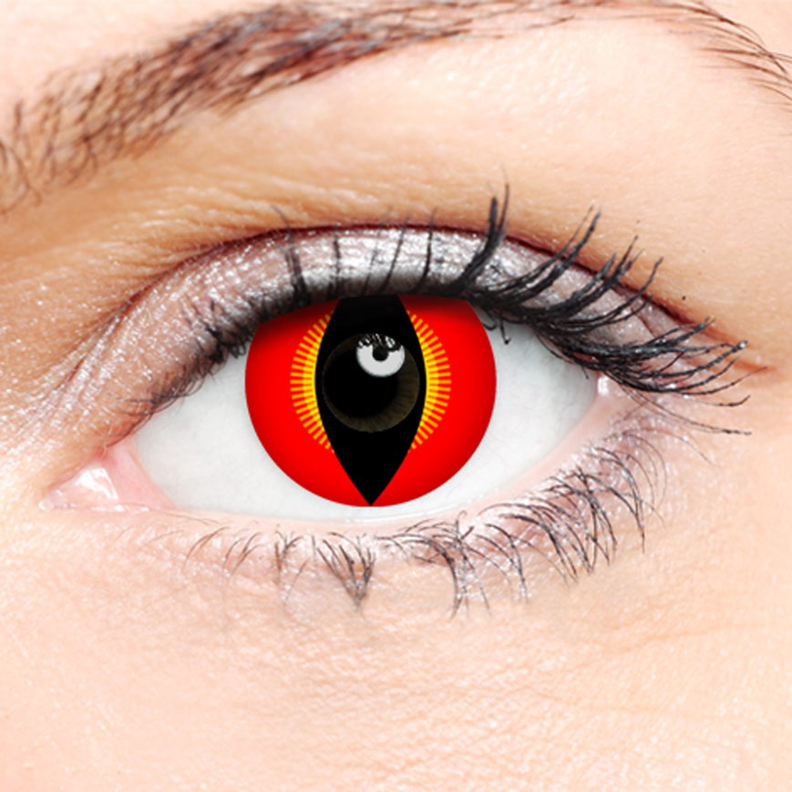Crazy Halloween Contact Lenses - Komono