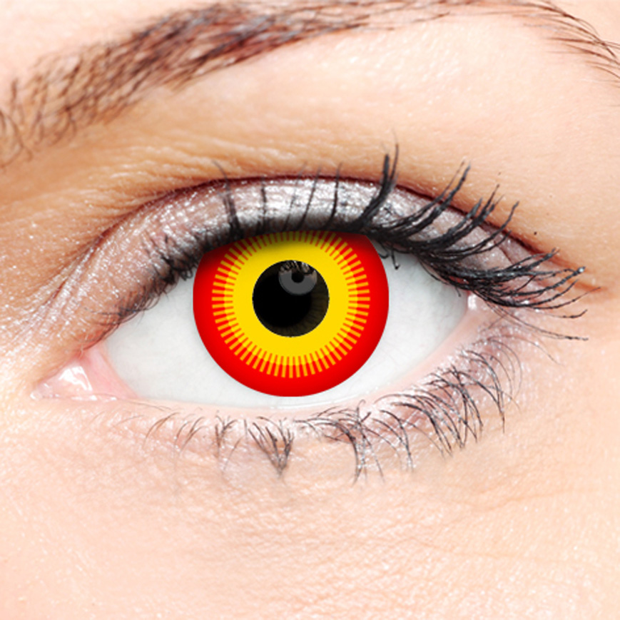 Crazy Halloween Contact Lenses - Phoenix