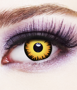 Novelty Contact Lenses - Crow