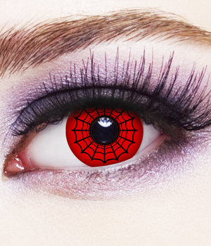 Novelty Contact Lenses - Spidey
