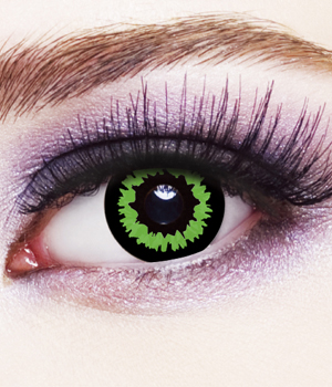 Novelty Contact Lenses - Orc