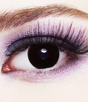 Novelty Contact Lenses - Black Out