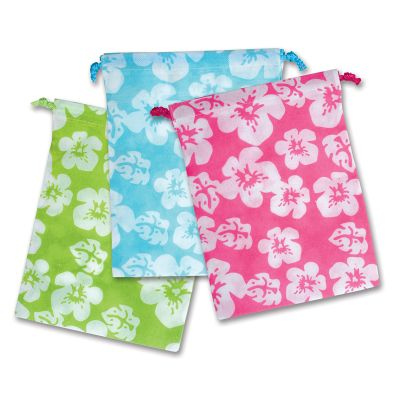 Luau Favor Bags 8x11in