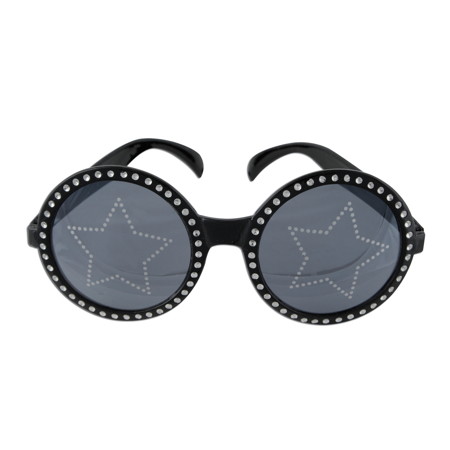 Jeweled Star Power Fanci-Frames black & silver