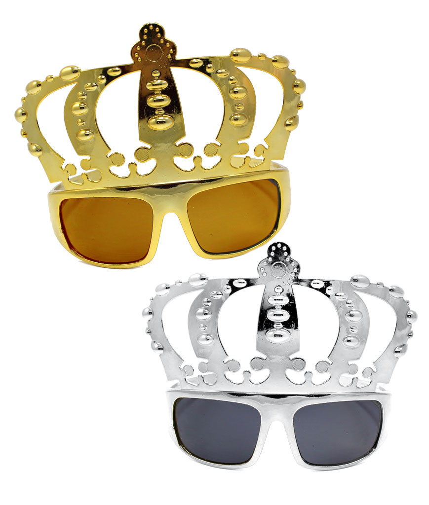 Fun Central AT798 Crown Sunglasses - Assorted 12ct